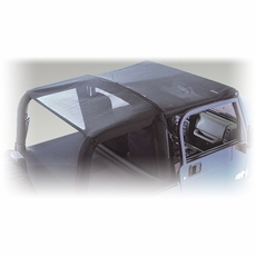 Mesh Roll Bar Top, 07-17 Jeep Wrangler by Rugged Ridge