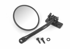 Quick Release Mirror Relo Kit (ea), Black, 97-17 Jeep Wrangler by Rugged Ridge