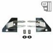 Mirror Relocation Brackets, Stainless Steel, 87-95 Jeep Wrangler by Rugged Ridge