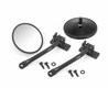 Quick Release Mirror Relocation Kit, Black, 97-17 Jeep Wrangler by Rugged Ridge