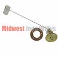 Fuel Tank Sending Unit for 1941-1945 Jeep MB and Ford GPW, 6 or 12 Volt
