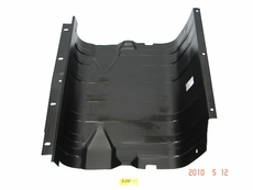 MTS Gas Tank Skid Plate for 1972-1986 Jeep CJ Models, skid plate fits 15 gallon tank, MTS XL plastic tank 21 gallon