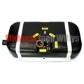 Plastic Gas Tank with Straps for 1947-1963 Willys Steel Body Wagon and 1948-1951 Jeepster, 18 gallon tank