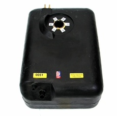 MTS Plastic Gas Tank for 1978-1986 Jeep CJ Models with 15 Gallon Tank