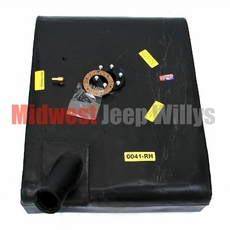 Plastic Gas Tank for Right Hand Mount 1955-1970 Jeep CJ5, CJ6 with F-134 4 Cylinder Engine Only