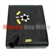 Plastic Gas Tank for Right Hand Mount 1965-1970 Jeep CJ5 and CJ6 with V6 engine with lock ring style sending unit