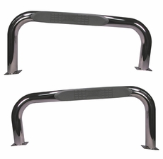 Nerf Bars, Stainless Steel, 76-83 Jeep CJ Models by Rugged Ridge