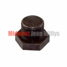 Oil Pan Drain Plug for L-134 and F-134 Willys Jeep 4 Cylinder Engines, 1941-1971 Models