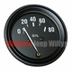 Oil Pressure Gauge, 1948-1956 Willys Jeep CJ2A, CJ3A and CJ3B Models
