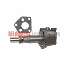 Oil Pump, 4-134 CI L-Head With Chain Driven Camshaft, 1941-1945 MB, 1941-1945 Ford GPW