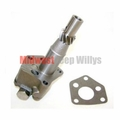 Oil Pump for L-134 & F-134 4 Cyl. Engines, Gear to Gear Timing, fits 1946-1971 Jeep & Willys Vehicles