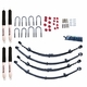 "ORV Lift Kit, 2""-2.5"" Lift, 1987-95 Jeep Wrangler YJ, 4WD, Kit w/ Shocks"