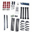 2-Inch Lift Kit without Shocks, 97-02 Jeep Wrangler TJ by ORV Rugged Ridge