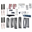 4-Inch Lift Kit with Shocks, 07-17 Jeep Wrangler JK by ORV Rugged Ridge