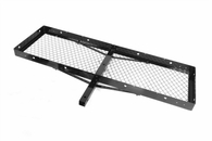 "Outland High Quality Universal Receiver Rack, Black Powdercoat Finish, for 2-inch Receiver Hitches, 20"" X 60"""