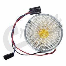 Parking Lamp and Turn Signal Assembly, fits 1969-1975 Jeep CJ5, CJ6