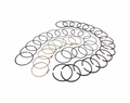 Piston ring set, 1970-78 AMC 401, .020 over