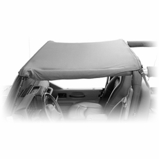 Island Pocket Topper, Black Diamond, 97-06 Jeep Wrangler by Rugged Ridge