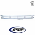 "Polished Stainless Steel 3"" Double Tube Front Bumper fits 1976-1986 Jeep CJ Models by Kentrol"