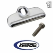 Polished Stainless Steel Battery Tray Clamp fits 1976-1986 Jeep CJ Models by Kentrol
