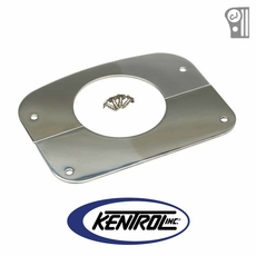 Polished Stainless Steel Column Cover fits 1976-1986 Jeep CJ Models by Kentrol