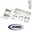 Polished Stainless Steel Hood Kit fits 1978-1995 Jeep CJ & YJ Wrangler by Kentrol