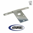 Polished Stainless Steel License Plate Bracket fits 1976-1986 Jeep CJ Models by Kentrol