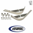Polished Stainless Steel Rear Body Guard Set fits 1955-1986 Jeep CJ Models by Kentrol