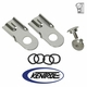 Polished Stainless Steel Tailgate Latch Set fits 1976-1986 Jeep CJ7 & CJ8 by Kentrol