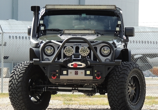 2007 2015 jeep wrangler jk front rally bumper midwest jeep willys. Cars Review. Best American Auto & Cars Review