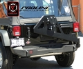 Proline 4WD 2007-2015 Jeep Wrangler JK Rear Elite Bumper with Tire Carrier