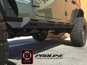 Proline 4WD 2007-2017 Jeep Wrangler JK Unlimited 4 Door Rocksliders