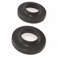 Prothane Front Coil Spring Pads for Jeep 1997-06 WRANGLER, Pair, BLACK