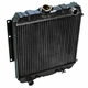 Radiator, 1 Row, 1983-1984 DJ5-M Postal Jeep with 2.5L AMC Engine