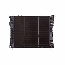 Radiator, Jeep Grand Cherokee (1998) w/ 8 cyl engine. Core Size: 22-1/4 x 19-3/4; 2 Rows