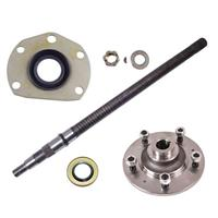 Rear Axle Kit, Drivers Side, Fits 1976-1979 CJ's with Quadra Trac