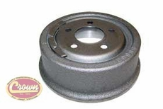 """Rear Brake Drum, 1990-06 Jeep Wrangler YJ, TJ and Cherokee XJ with 9"""" x 2-1/2"""" Drums"""