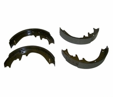 "Rear Brake Shoe Set, 1991-01 Jeep Cherokee XJ, 1993-98 Grand Cherokee ZJ with 10"" Rear Drum Brakes"