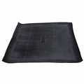 Rear cargo area liner, black rubber, fits 1945-1981 Jeep CJ models