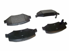 Rear Disc Brake Pads, fits 2007-13 Jeep Wrangler JK & Wrangler Unlimited JK