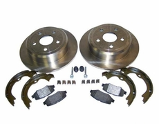 Rear Disc Brake Service Kit, 2007-13 Jeep Wrangler JK