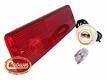 Rear Side Marker Kit in Red for 1966-86 Jeepster, Jeep CJ5, CJ7 & CJ8
