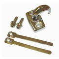 Chrome Rear Tow Hook, 97-06 Jeep Wrangler by Rugged Ridge