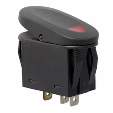 Red 2-Position Rocker Switch by Rugged Ridge