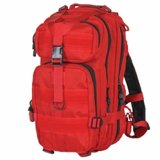 Red Medium Transport Backpack, Accepts Modular or A.L.I.C.E. attachments