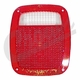 Replacement Tail Lamp Lens, fits 1976-2006 Jeep CJ & Jeep Wrangler YJ and TJ