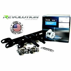 Revolution Gear & Axle Jeep 87-95 YJ, MJ & XJ, US Made Front SUPER 30 Axle Kit w/ E-Locker