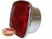 Right Side Tail Lamp Assembly, Chrome, fits 1976-80 Jeep CJ5, CJ7 & CJ8