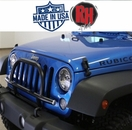 Rock Hard 4x4 2007-2017 Jeep JK Wrangler Light Mount with Grille Guard for Factory Front Bumper
