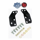 Rock Hard 4x4 Required Heavy Duty Rear Frame Brace Kit for 1997-2006 Jeep Wrangler TJ and Unlimited LJ